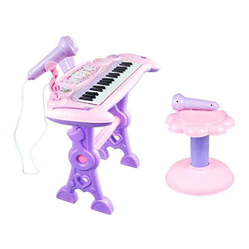 37 Key Electronic Keyboard Piano Orgel Toy Microfoon Kinderen Educatief speelgoed Multicolor
