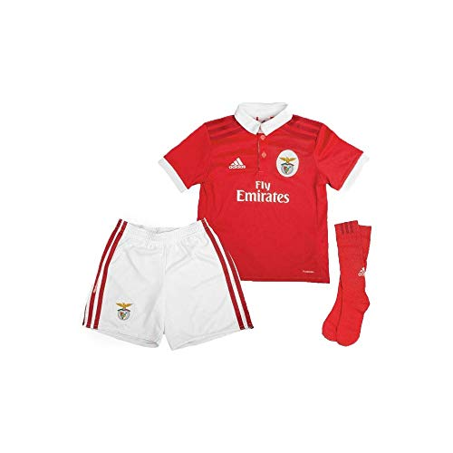 adidas Kit junior Benfica Domicile 2017/2018, rot, 140, XXS