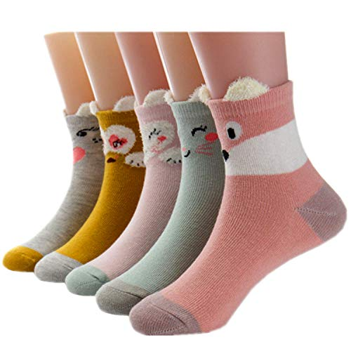 12 Colors Lictin Baby Socks Anti Slip Socks with Grips-12 Pairs Non Skid Ankle Socks with Mesh Design for Infants Boys /& Girls 1-3 Years Cotton Socks with Box