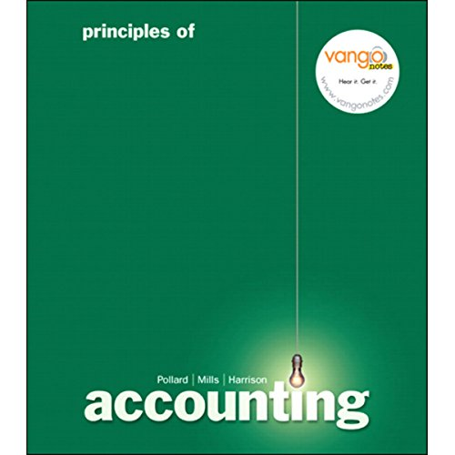 VangoNotes for Principles of Accounting, 1/e audiobook cover art