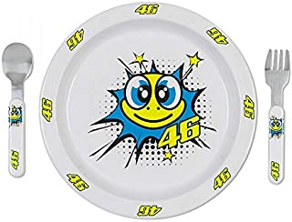 Valentino Rossi VR46 Moto GP Pop Art Turtle Baby Meal Set Official 2019