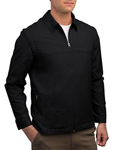 SCOTTeVEST Men's Convertible Travel Jacket Vest | 25 Pockets | Anti-Pickpocket