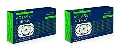 Actase Lutein ZA 30 Softgels 2 Boxes Bulk Buy
