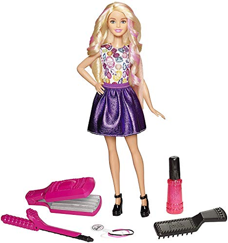 Barbie Infinite Acconciature con Bambola e Tanti Accessori Inclusi, Multicolore, DWK49