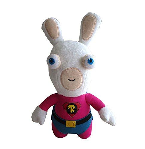 Les Lapins Crétins - Peluche Superhero 28 cm
