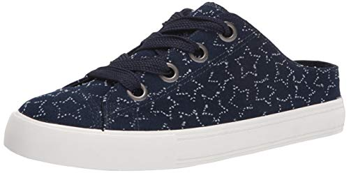 Rocket Dog Women s Athena Star Cotton Sneaker, Navy, 8.5