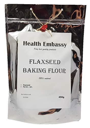 Health Embassy Farine de Lin / Flaxseed Baking Flour, 450g