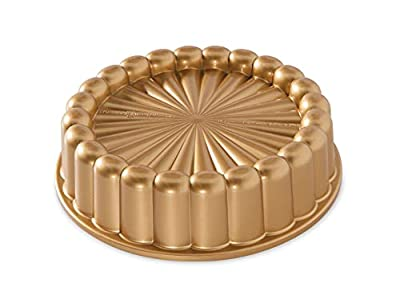 Nordic Ware Charlotte Cake Pan, One Size, Gold