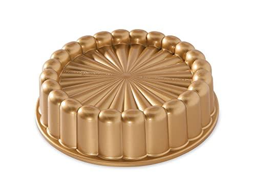 Nordic Ware Kuchenform Aluminium Gold 22cm, 83577