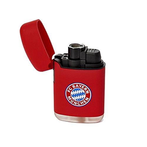 Bayern München 0201922 Feuerzeug, Plastik, rot, 6.8 x 4 x 2 cm