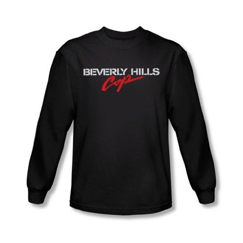 Beverly Hills Cop - Logo T-shirt manches longues Men In Black -, Large, Black