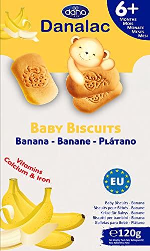 Danalac Biscuits Saveur de Banane pour Bébés 6+ Mois 120.00 kg