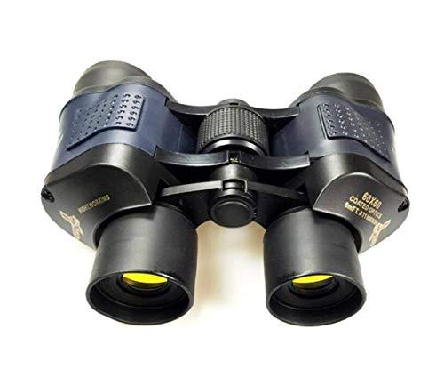 Prismáticos binoculares de alta definición HD visión nocturna del concierto BKA4 adulto Negro facilitar su transporte, Caza y Pesca camping / senderismo / Espeleología multifunción (Color: Negro) mono