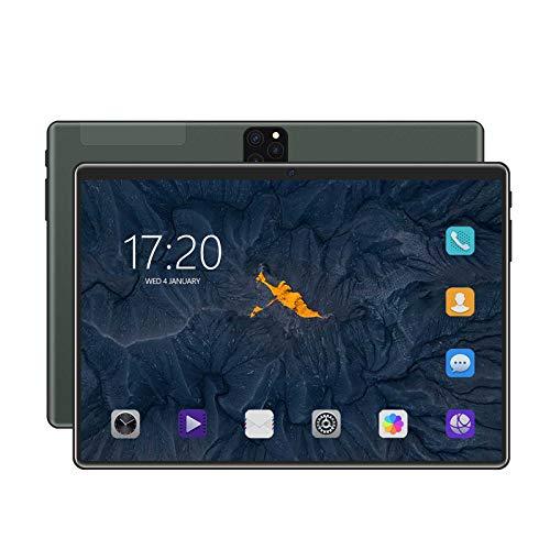 yankai 4G Tablet 10 Zoll Android9.0,6 + 128 GB Für Telefonanrufe, Dual-SIM-Karte + TF-Karte, Schnell Aufladbarer 8800-mAh-Akku, GSM-Zertifiziert Für Den Einsatz In Mehreren Ländern