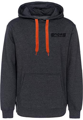 SNORS Hoodies ORANGE, 145cm - Flache Kordel für Kapuzenpullover