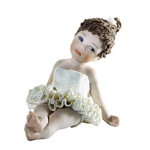 Statua in Porcellana 33 B Petipa – Bambola in Porcellana Elegante Decorazione Artigianale, Manifattura Classica Artistica Vicentina - Made in Italy