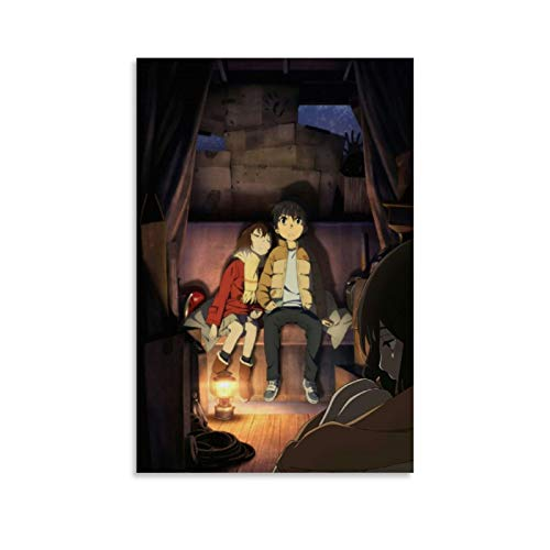 XIAOG Anime Erased Poster Decorative Painting Canvas Wall Art Living Room Posters Bedroom Painting 12x18inch(30x45cm)