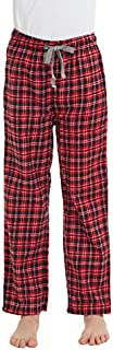 Image of Black and Red Plaid Pajama Pants for Boys - See More Colors