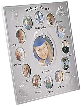 Elegance School Years K-12 Picture Frame 13 Openings