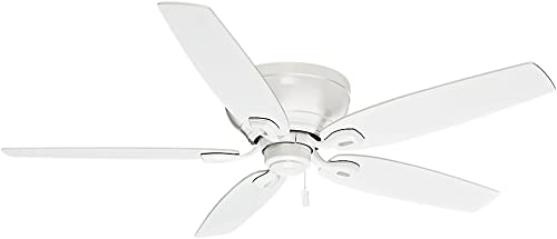 popular Casablanca wholesale Durant Indoor Low Profile online Ceiling Fan with Pull Chain Control online
