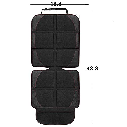2-Pack Car Seat Protector Reversible, Front Seat Protector for Kids Feet Car Seat Cover, 2-Pcs