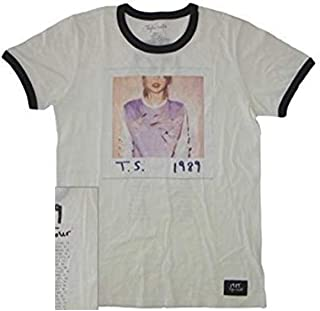 1989 Album Cover Tour Ringer Tee T-Shirt Adult Women's Extra Small