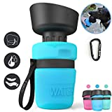 lesotc Pet Water Bottle for Dogs, Dog Water Bottle Foldable,...