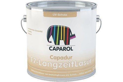 Caparol Capadur F7-LangzeitLasur Größe 375 ml, Farbe nussbaum
