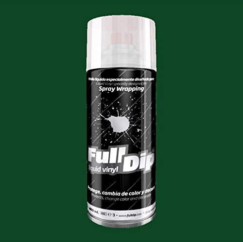 Full Dip Pintura extraibile Spray 400ml Verde Militar 2.0