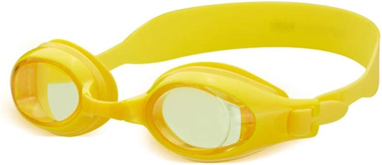 WYNZYYYYJ Kinderschutzbrillen, Jungen Und Mdchen Wasserdichte Anti-Fog HD Professionelle 3D Siegelgre Einstellbare Schwimmbrille