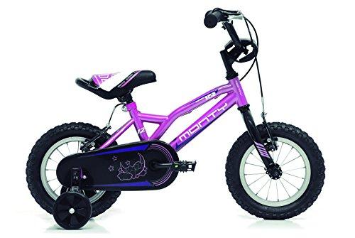 "Monty 102 Bicicleta, Unisex niños, Rosa, 8"""