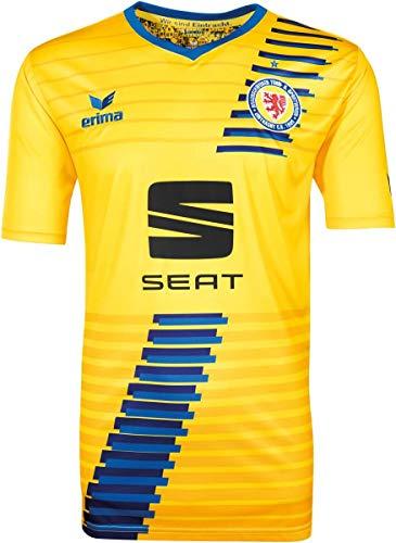 Erima Eintracht Braunschweig Trikot Heim 2018/2019 Yellow/New royal, XXL