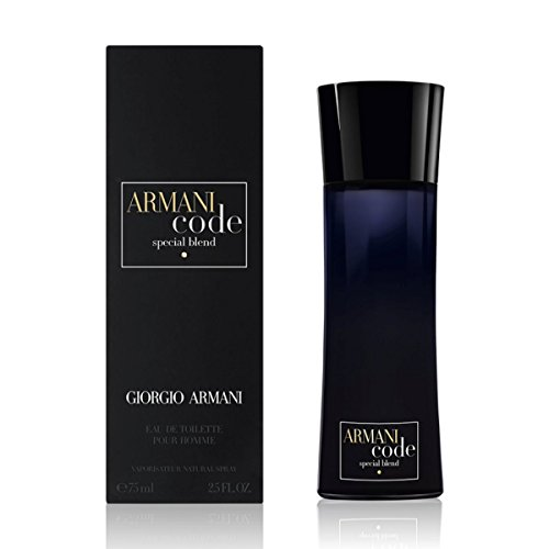 Giorgio Armani Code Special Blend EDT Spray for Men, 2.5 Fluid Ounce