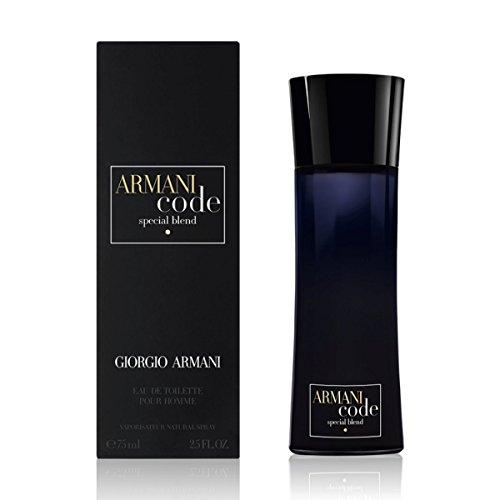 Giorgio Armani Code Special Blend EDT Spray for Men, 2.5 Fluid Ounce