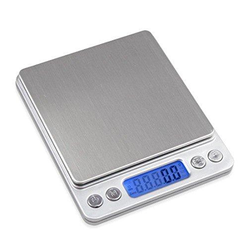 Mini balance numérique de précision de poche Pour bijoux, cuisine 3 kg 3000 g/0,1