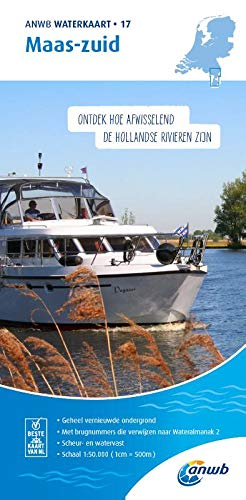 Maas-Zuid 1:50 000 Waterkaart: Waterkaarten (ANWB waterkaart (17))