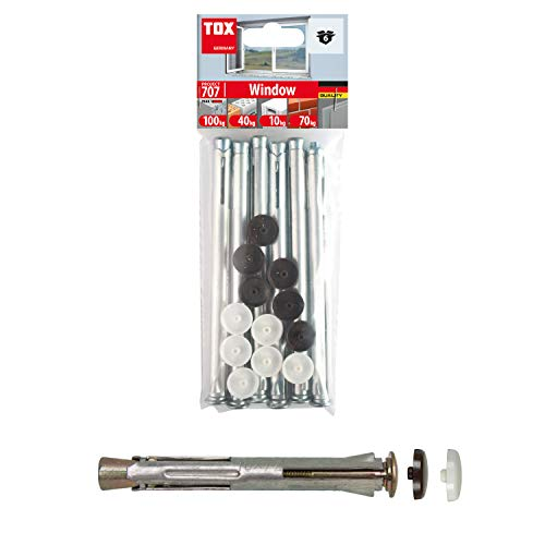 TOX Metall-Rahmendübel Window 10 x 202 mm, 6 Stück, 027601181