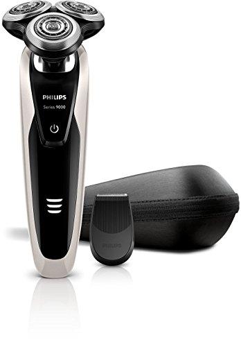 Philips Shaver Series 9000 - Afeitadora serie 9000, actúa en 8 direcciones diferentes, AquaTec Wet & Dry, Super Lift&Cut Action