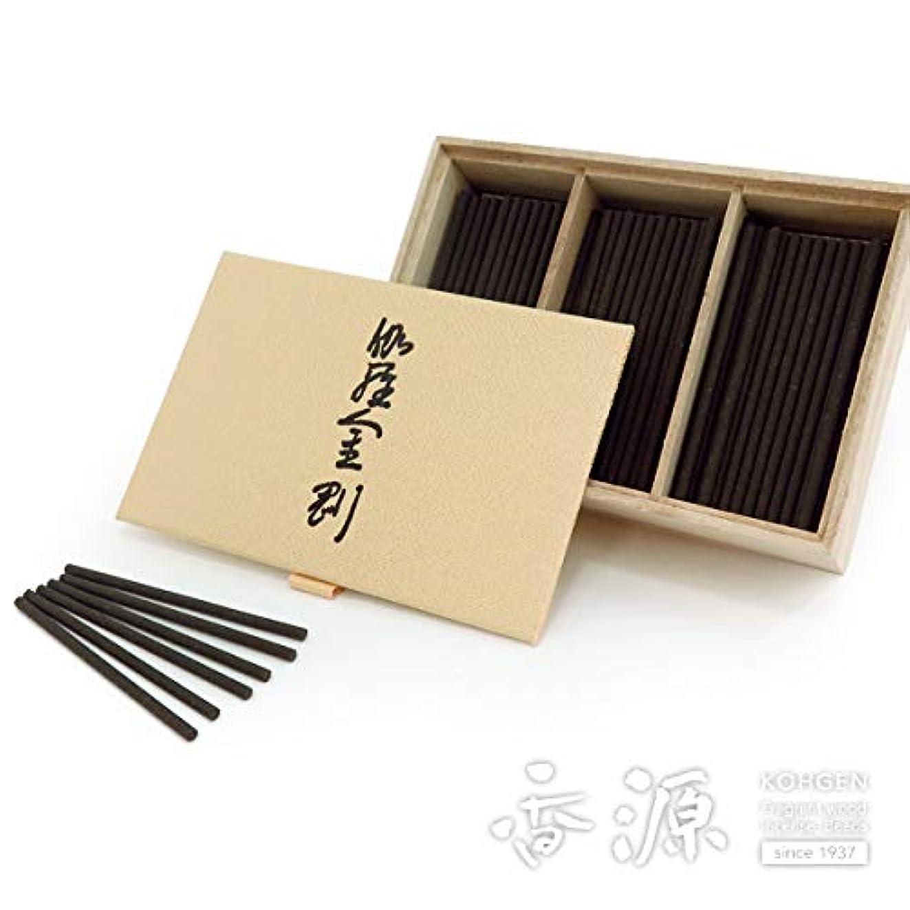 アンテナ突然のレタッチ日本香堂のお香 伽羅金剛 スティックミニ寸お徳用 150本入り