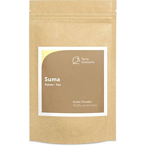 Terra Elements Suma Pulver, 100 g I Pfaffia paniculata I 100% rein I Vegan I Rohkost