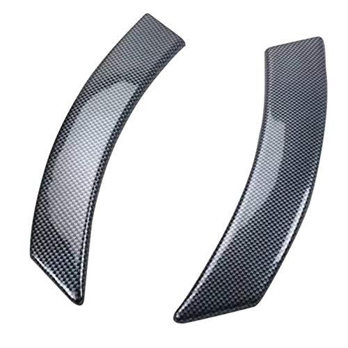 Apto para Beetle 2003-2010 fibra de carbono ABS manija Interior de la puerta del coche Protector de tazón cubierta embellecedora moldura estilo de coche