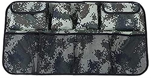 Kun yi 1pc Bolsas de Almacenamiento de Respaldo Trasero de múltiples vagones 1pc Cuelga la Bolsa de Red Bolsas de Equipaje Bolsa de Oreja automática Interior está Bien (Color : Style 2 Camouflage)