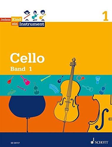 Jedem Kind ein Instrument: Band 1 - JeKi. Violoncello. Schülerheft.: Schülerheft. Violincello. JeKi