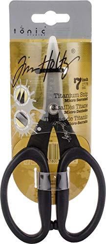 TOOLS Ranger Industries Kushgrip - Tijeras antiadherentes microserradas (17,7cm)