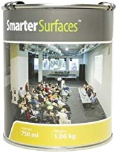 Smart Projector Paint 65ft² - White - Projectable Wall - Projector Screen Paint - Gain Value 1.0 - Viewing Angle 140°