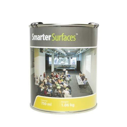 Smart Projektionsfarbe 6m² Weiß - Beamer Farbe - Leinwandfarbe - Verstärkungswert von 1.0