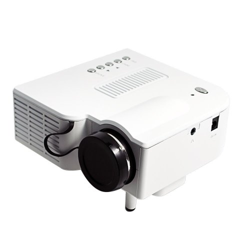 B1 LED LCD (QVGA) Mini Video Projector - International Version (No Warranty) - DIY Series - White (FP3224B1W-IV1)