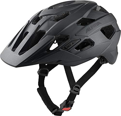 Alpina Unisex– Erwachsene PLOSE MIPS Fahrradhelm, Black matt, 57-61 cm