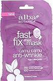 Alba Botanica Fast Fix Sheet Mask, Camu Anti-Wrinkle, 1 Ounce