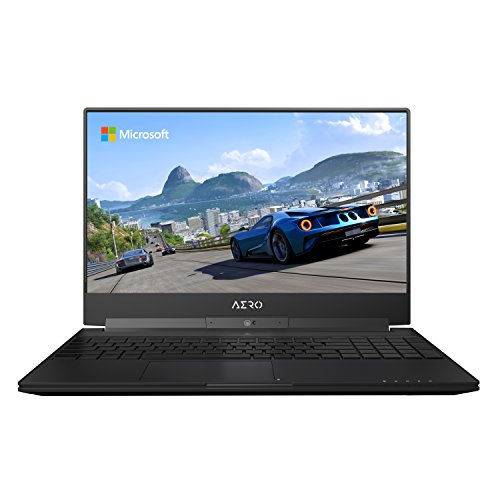 GIGABYTE Aero 15W v8-BK4 15' Ultra Slim Gaming Laptop 144Hz...